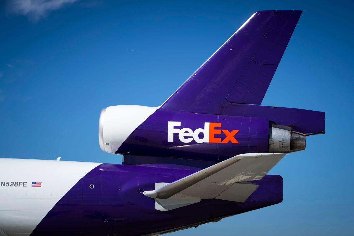 國際航空飛行員協會(ALPA)周二呼籲聯邦快遞(FedEx Corp)等美國包裹快遞公司應暫停在香港業務。(AFP)