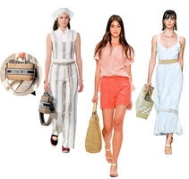 突顯法式優雅的草編包 讓你的夏天時尚又隨性