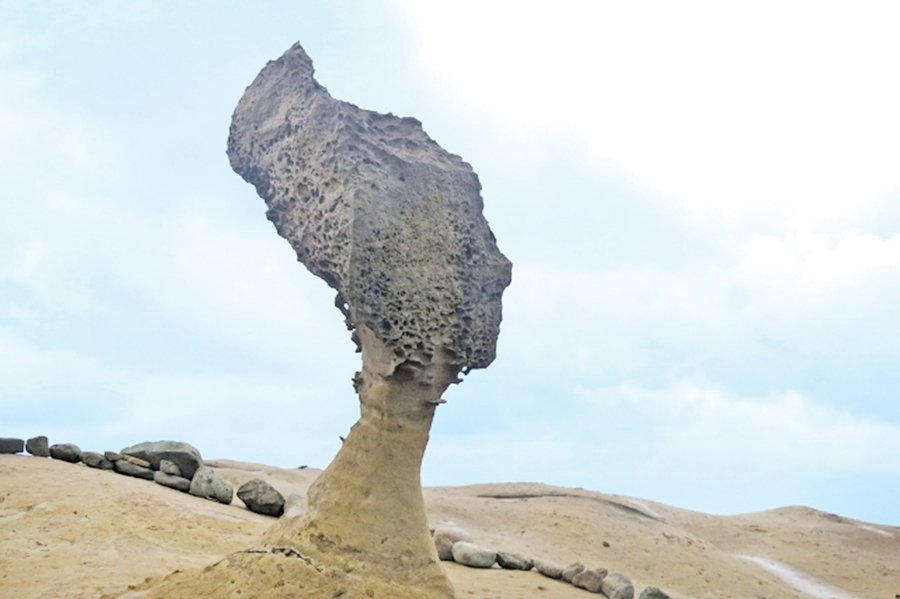 台灣北海岸「野柳」奇石之旅