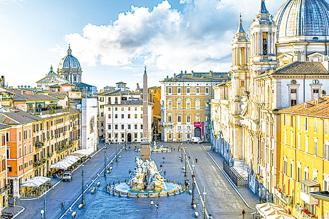 甜點是城市最溫柔的一面,古城羅馬也有許多必嚐的經典甜點。