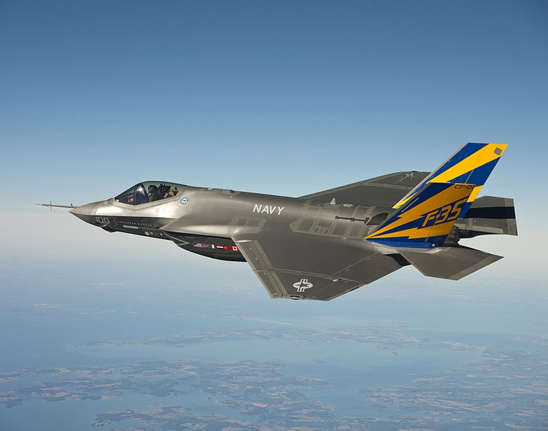 圖為美國F-35戰鬥機。(U.S. Navy photo courtesy Lockheed Martin via Getty Images)