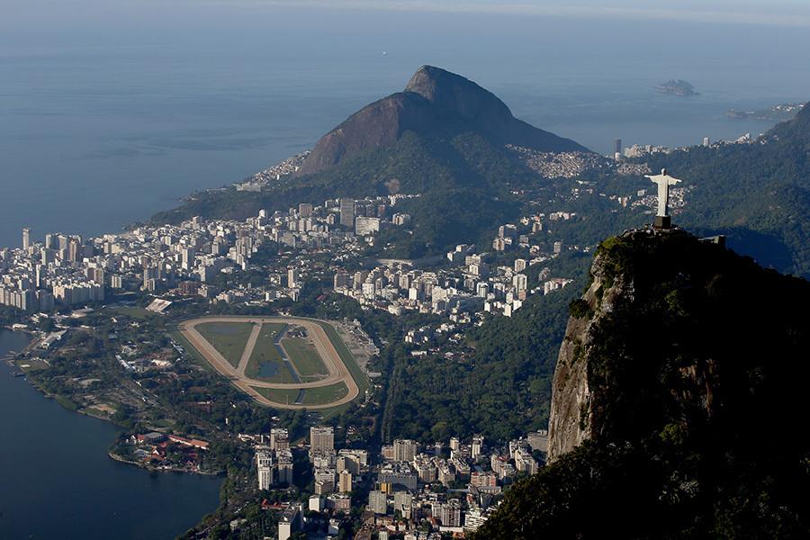 奧運開幕在即,里約準備好迎接全世界。(Matthew Stockman/Getty Images)