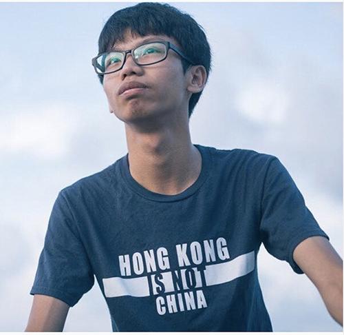 民主派組織「學生動源」前召集人鍾翰林被捕。這是依「港版國安法」設立的港警國安處成立以來,首度採取拘捕行動。(鍾翰林instagram)