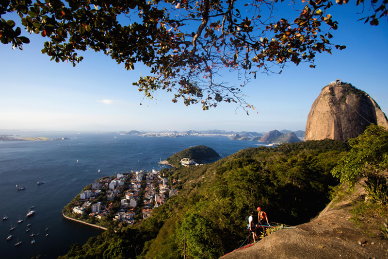 里約熱內盧舒格洛夫和瓜納巴拉灣。(Buda Mendes/Getty Images)