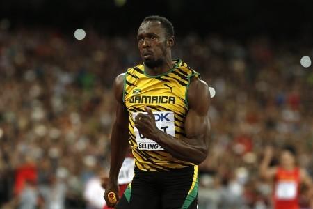來自牙買加的保特是男子100米與200米雙料世界紀錄保持者。圖為資料照。(Getty Images)