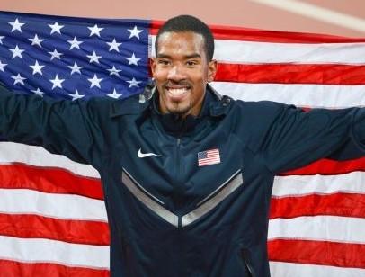 美國選手泰勒去年北京世田賽以18米21的成績奪下金牌。(維基百科公有領域)