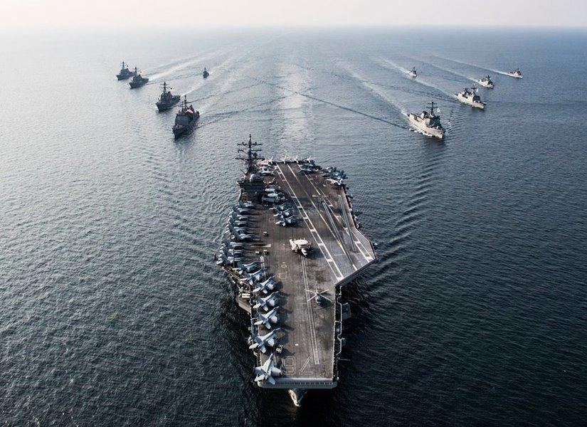 美航母現東海 國防高官:中共核野心威脅戰略平衡