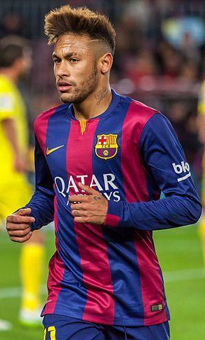 24歲尼馬今年8月代表巴西在國際賽出戰70場攻進46球。(維基百科公有領域)