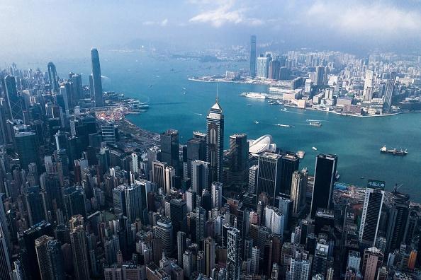 香港。 (DALE DE LA REY/AFP via Getty Images)