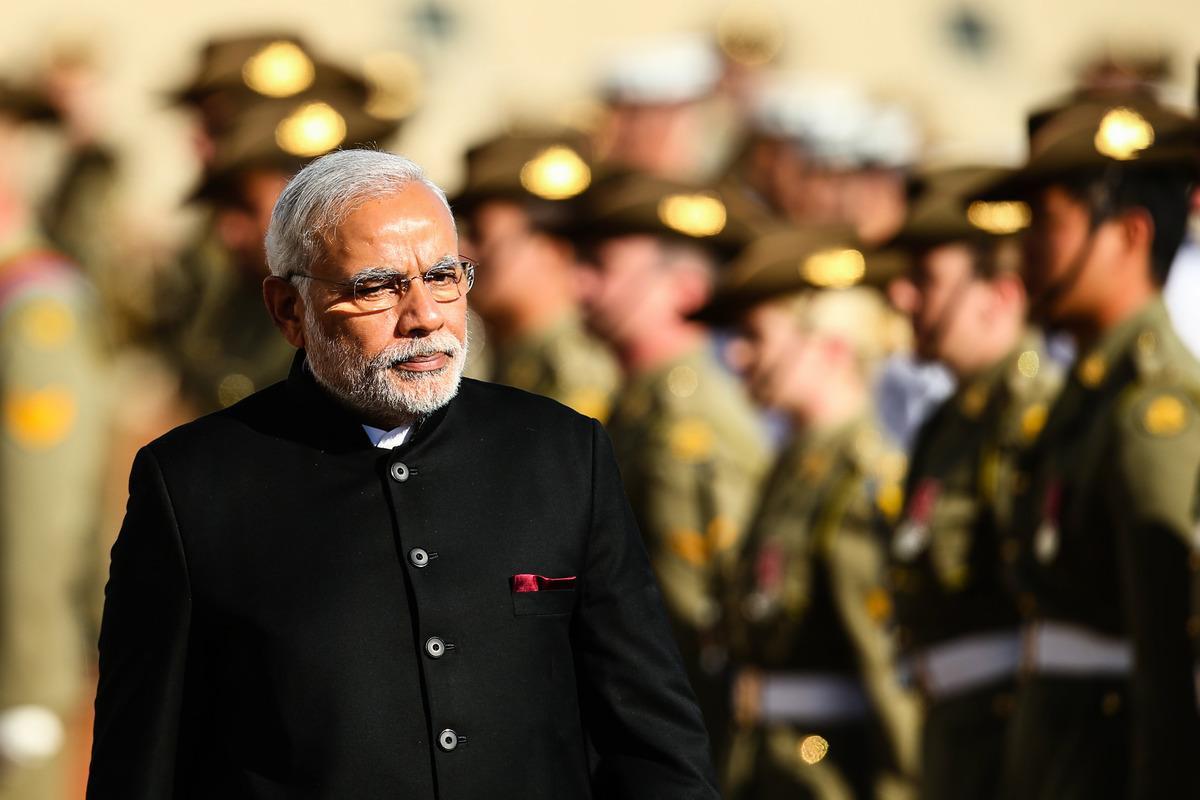 中印邊境衝突問題雙方磋商2周多無果,印度將向中印邊境增兵3.5萬。中共被指彈道導彈不夠用。圖為印度總理莫迪。(Mark Nolan/Getty Images)