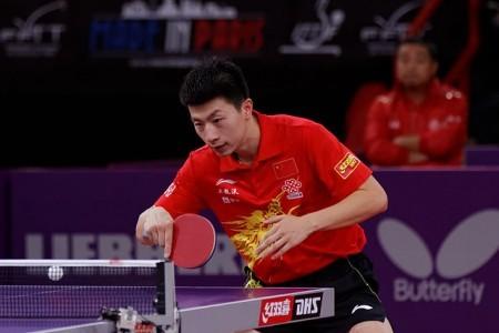 中國大陸27歲桌球明星馬龍自去年3月以來一直排名世界第一。(維基百科公有領域)
