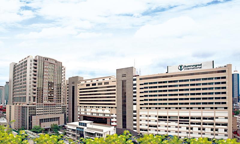 康民醫院是泰國的5星級私人醫院,受惠泰國旅遊業持續增長。(網頁截圖)