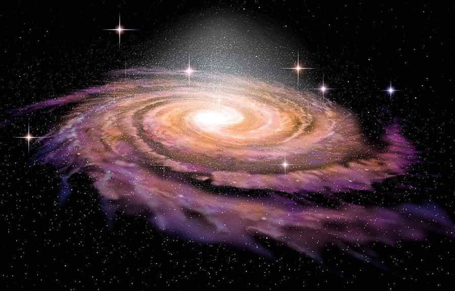 發現一條星鏈飛向銀河中心