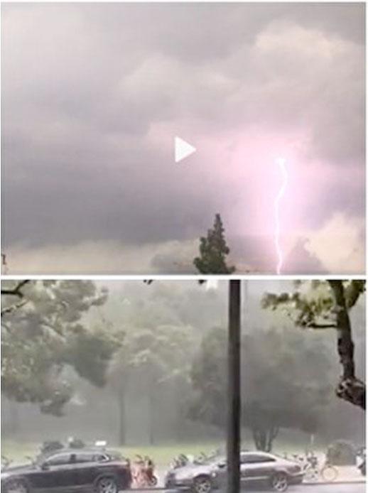大陸異象四起:六月飄雪 冰雹蓋地 電閃雷鳴 被指「天滅中共」綜合徵兆