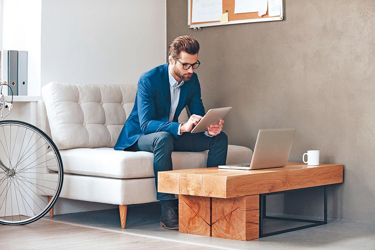 將辦公室角落區域設為「專注空間」,讓想要安靜工作的員工來使用。(shutterstock)
