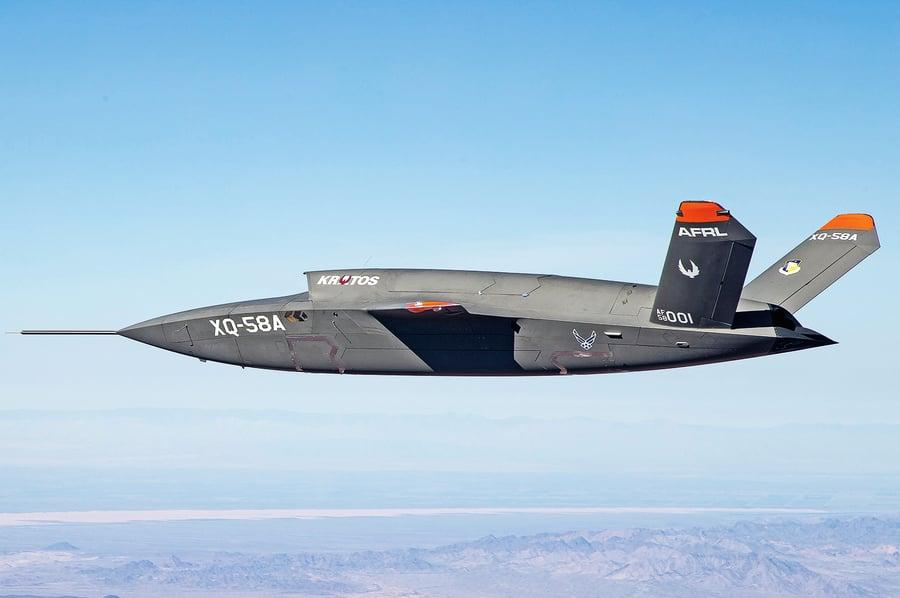 美國空軍 Skyborg 無人機  四家公司贏得首批建造合同