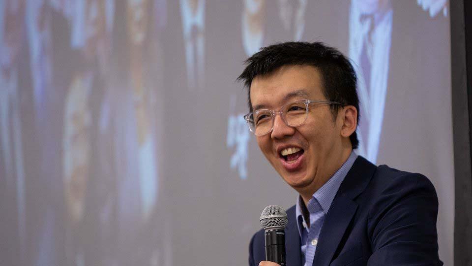 朱牧民表示,自己可能是第一位被「港版國安法」通緝的非中國公民,他認為北京現在用他來「試水溫」。(朱牧民推特)