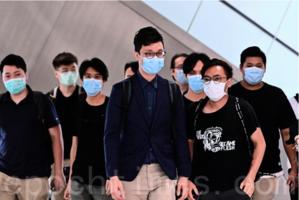 【組圖】王宗堯等11人涉闖立法會被控暴動 轉介區院審理