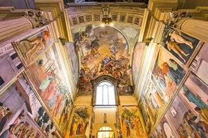 畫家的臨摹聖地──意大利布蘭卡契小堂