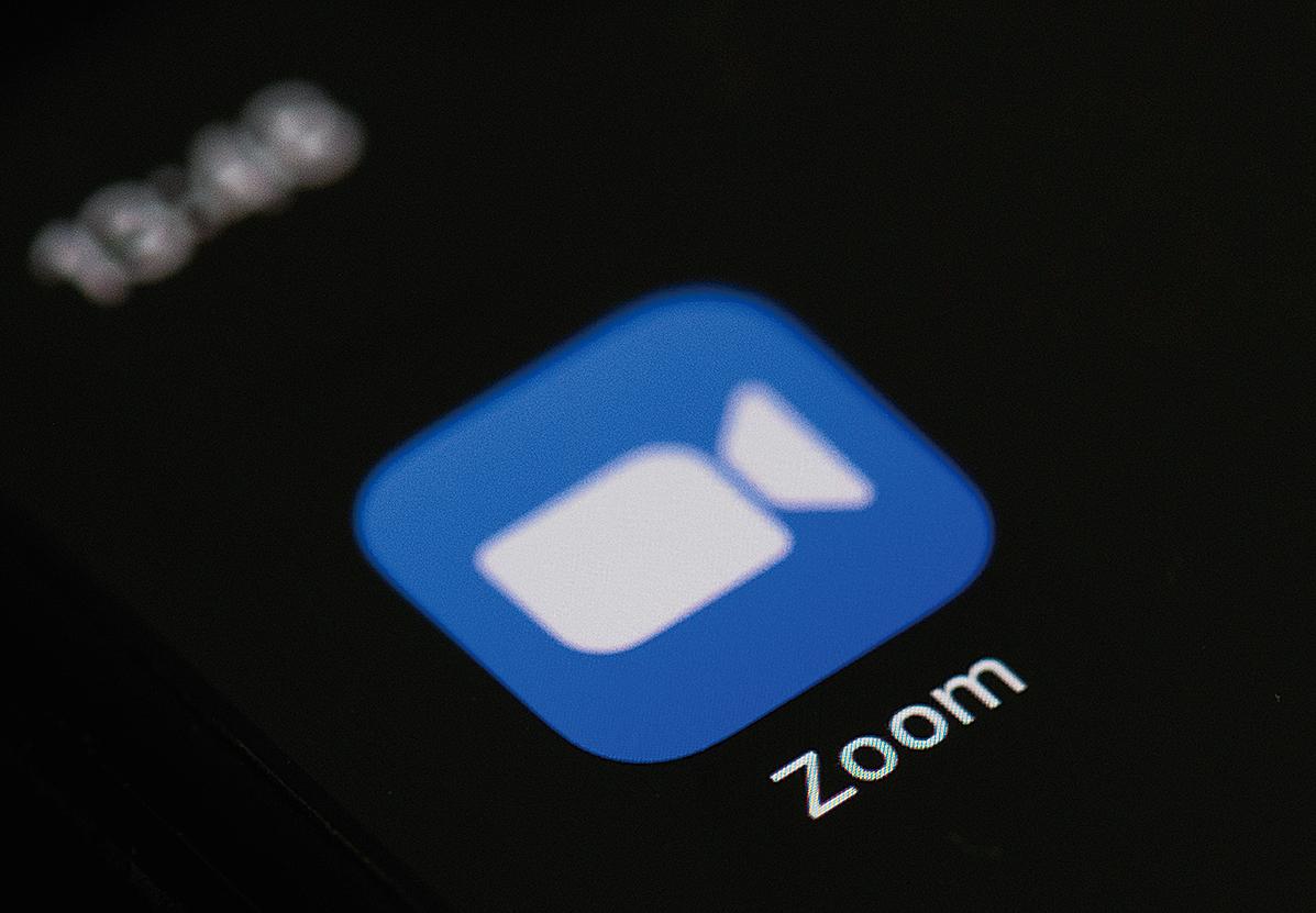 美國視訊軟件Zoom 8月3日大動作宣佈停止向中國大陸用戶提供線上販售和升級服務。(AFP)