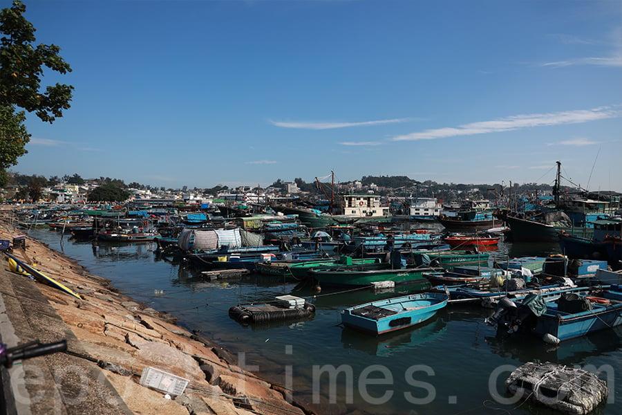 阿西認為,長洲的「漁民精神」也代表著一種「香港精神」。(陳仲明/大紀元)