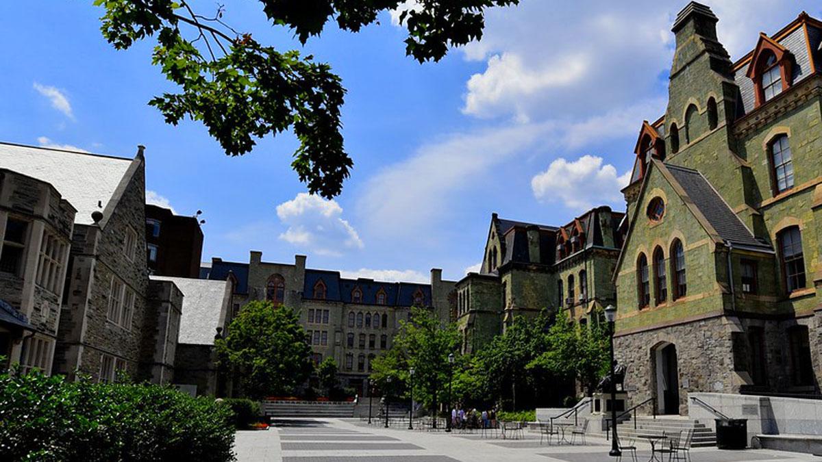 位於費城的長春藤聯盟研究型大學——賓夕凡尼亞大學。(bobglennan/Flickr,CC BY-NC-ND 2.0)
