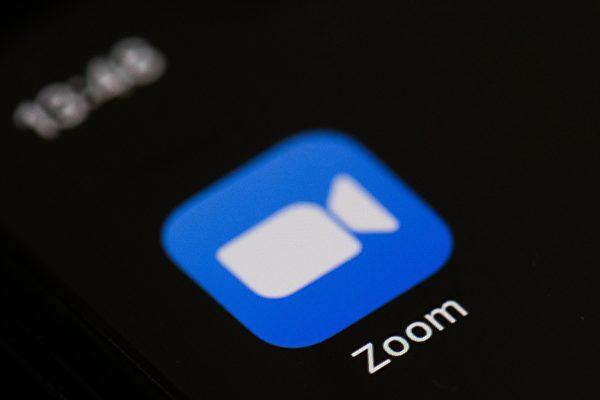 美國視訊軟件Zoom,2020年8月3日大動作宣佈停止向中國大陸用戶提供線上販售和升級服務。(Martin BUREAUAFP via Getty Images)