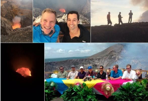 尼加拉瓜活火山上首創裝WiFi 提供預警服務