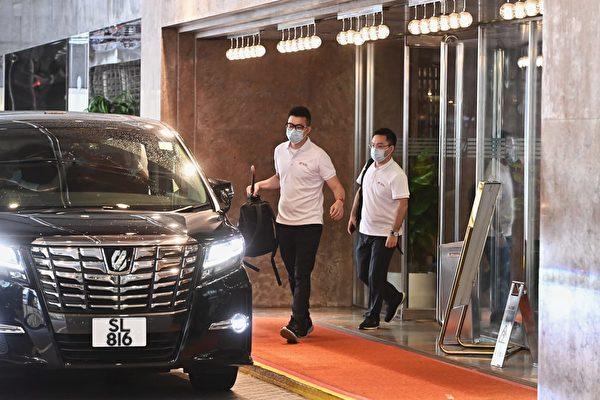 有線電視攝影師確診 傳曾採訪七人支援隊入住酒店