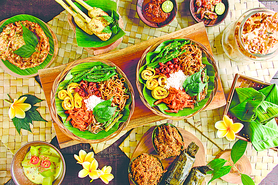 據官方統計,印尼總共有5,350種傳統菜餚。(Shutterstock)