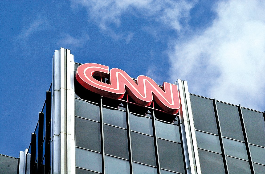 美國CNN位於加州荷里活的辦公室。(Getty Images)