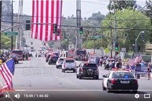 聖地亞哥警察被殺 數千人參加葬禮