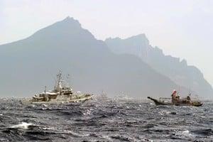 中共在東海爭議海域架設雷達 日外務省抗議