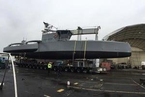 美無人獵潛艦首次海測 2年後加入反潛任務