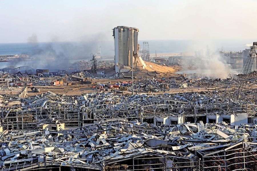 貝魯特大爆炸135死30萬人無家可歸