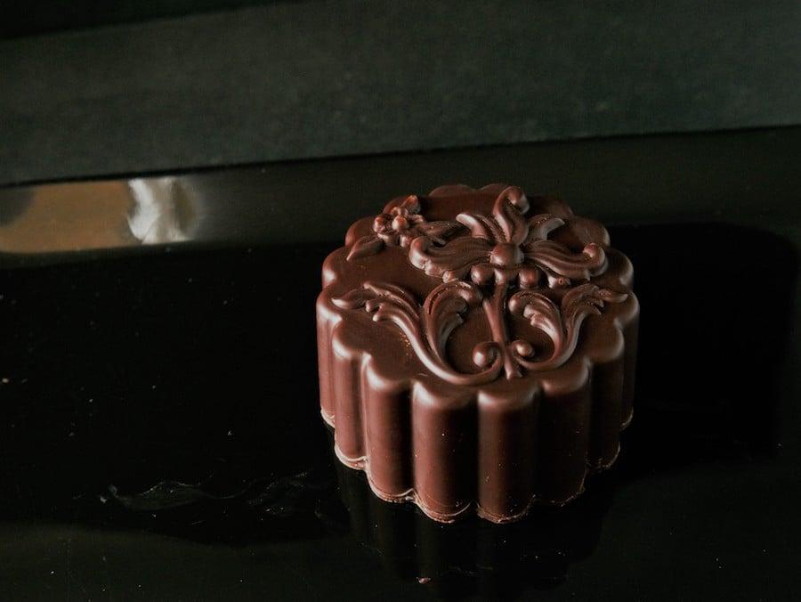 Cacao品牌的朱古力月餅。(受訪者提供)