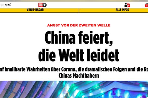 歐洲發行最大報紙歷數五事實 追責中共瞞疫
