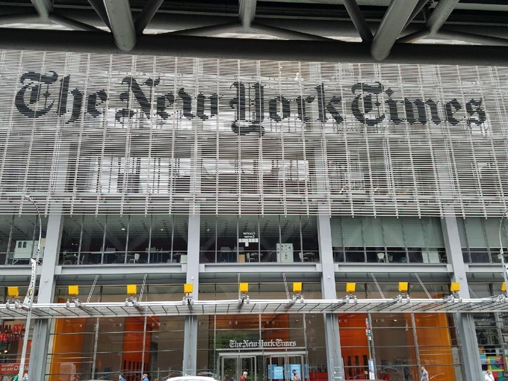 《紐約時報》和《華盛頓郵報》終止與中共官方媒體《中國日報》的合作,並已將刊登過的付費宣傳刪除。(美玲/大紀元)