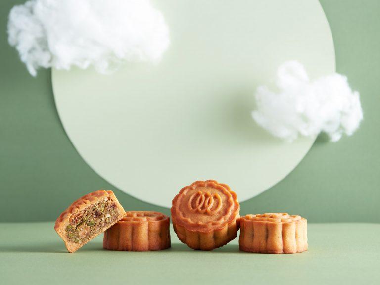 綠色素食生活館Green Common今年推出的開心無花果燕麥月餅。(Green Common官方網頁)