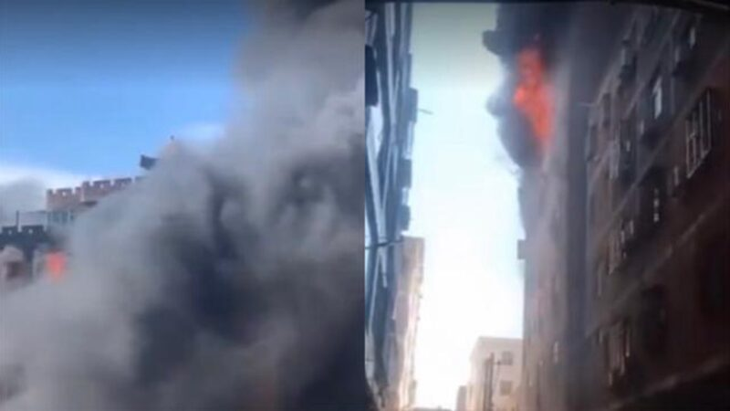 福建晉江7層高樓廠房火災 至少8人死亡