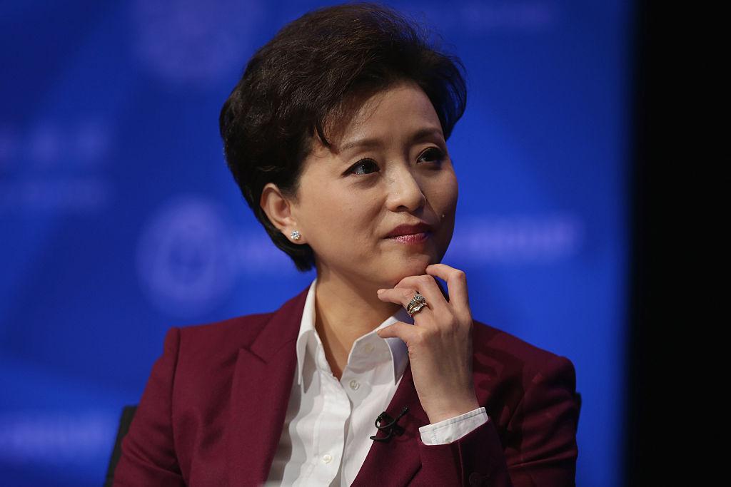 日前,逃亡美國的中國富豪郭文貴透露,有「中共文化特務」之稱的楊瀾、吳征夫妻二人出事了。(Chip Somodevilla/Getty Images)