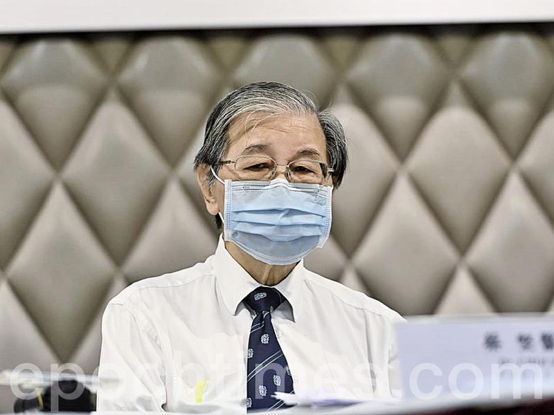 蔡堅:專家確定本港第三波武肺疫情源於讓免檢疫人士入境