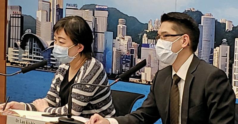 本港截至9日零時零分,新增72宗中共病毒確診個案,多5人離世。(郭威利/大紀元)