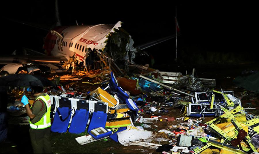 印撤僑專機 衝出跑道 17死173傷