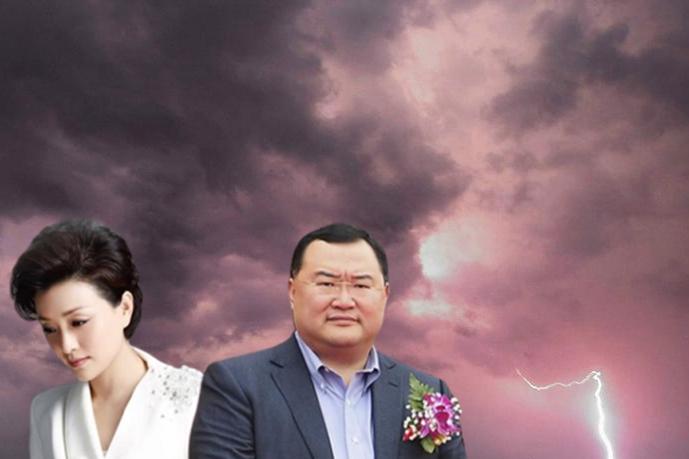 吳征和楊瀾被指是夫妻特務檔。(合成圖片)