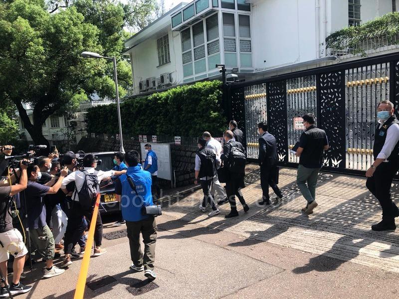 多個傳媒工會組織關注黎智英等人被捕  譴責警方篩選採訪傳媒損新聞自由
