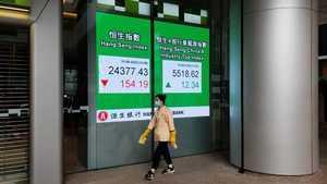港股震盪 騰訊續跌4.8% 壹傳媒升1.8倍