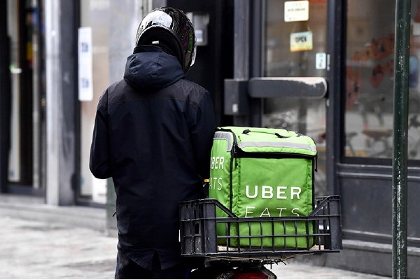 Uber送餐營收翻倍 超過召車業務