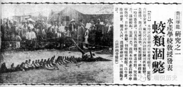 《盛京時報》的報道,1934年營口墜龍事件。(網絡圖片)