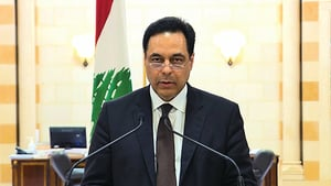 尊重人民意願 黎巴嫩總理宣佈內閣總辭
